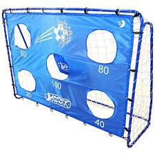 Best Sporting Fußballtor blau Torwand Turnierschießen Training mobil 2 Meter