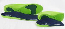 Pro11 bienestar X 1 Par De Ortopédico de longitud completa y X1 Par 3/4 Slim Fit Plantillas