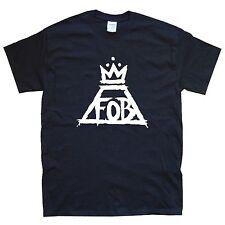 FALL OUT BOY ii T-SHIRT sizes S M L XL XXL colours Black, White