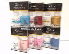 Gelixir - Duo UV/LED Soak Off Gel + Nail Polish -(#57 - #108)-Choose Your Colors