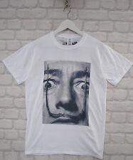 Uptown Classics Salvador Dali Bigote artista Blanco Cuello Redondo Camiseta Camiseta