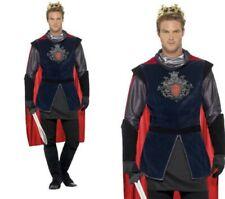 Roi Arthur hommes médiéval roi costume déguisement tailles M-XL