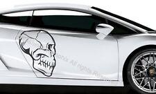 SKULL-Wall Art Vinile/Adesivo ref 9 auto, furgone, barca, bici Tablet