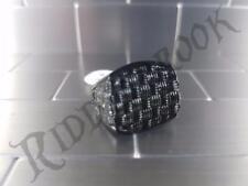 Black Checker plate styled Stainless Steel Biker ring poker punk checkerplate