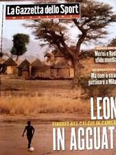 Gazzetta dello Sport Magazine 2 1998 Matilde Ciccia Lamberto Ceserani Camerun