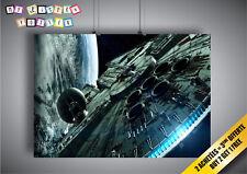 Poster STAR WARS Faucon Millennium Falcon Art