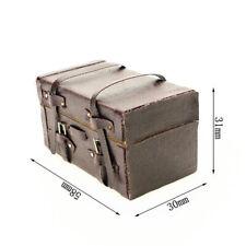 Miniature Trunk 1:12 Mini Dollhouse Packing Bags Cute Doll House Mini Trunk