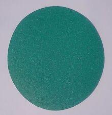Oslong Green Film 8-Inch PSA Sanding Disks 10-Pack 40-80 grit
