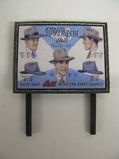 Pastel Swann Hats - Model Railway Billboard - N & OO Gauge