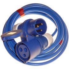 32 amp 240V hookup 4mm extension cable plug & coupler caravan marina 32A 5 - 20M