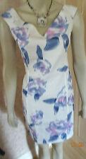 FASHION UNION BLUE PRINT FLORAL  DRESS, SZE 8, 10 & 12 ([POSS 14 & 16) CLEARANCE