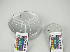 New Technology LED Vase Crystal Base Lights Waterproof Multicolor MultiFunction