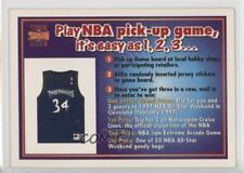 1996-97 NBA Pick-Up Game Cards #ISRI Isaiah Rider (Topps Stadium Club) Card