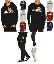 Ellesse New Mens Hoodies, or Sweatshirt Tops, or Jogging Bottoms Sweat Pants