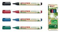 edding 25 EcoLine Permanentmarker 1mm Farbe wählbar oder als 4er Set