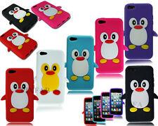 Nuovo Alla Moda Silicone Con Pinguino Morbido Custodia Cover Posteriore Adatto a