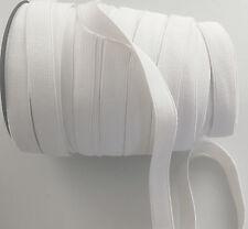 15 mm bianco Tinta unita Fascia In Vita Elastica Idea cucito polsini sartoria