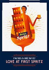 Print Art POSTER / CANVAS Aperol spritz