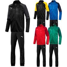 422729da2de7f Puma Cup Polyesteranzug Trainingsanzug Sport Anzug Fußball Jogging Fitness