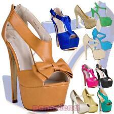 Chaussures pour femmes éscarpins plateau hauts talons neuf sandales OUTLET