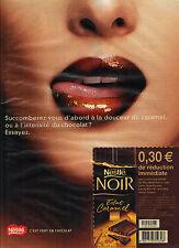 PUBLICITE ADVERTISING  2003   NESTLE   chocolat éclat caramel
