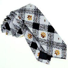 Neck Tie Handkerchief Cotton Floral Mens Ties Wedding Party Handmade ZBJ026 Set