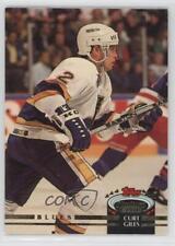1992-93 Topps Stadium Club #64 Curt Giles St. Louis Blues Hockey Card