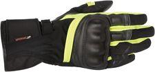 Alpinestars Valparaiso Drystar Street Bike Gloves Mens S-3XL Black/Yellow