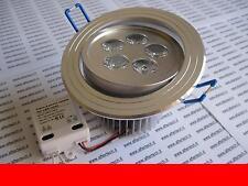 ROSSO FARETTO DA INCASSO LED 5X1w 5w LUCE ORIENTABILE 220v 230v AC
