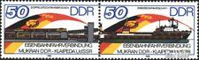 DDR WZd692 (kompl.Ausgabe) postfrisch 1986 Eisenbahnfähre EUR 1,70