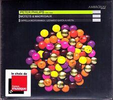 Peter PHILIPS 1561-1628 Motets & Madrigaux Cappella Mediterranea ALARCON CD Neu
