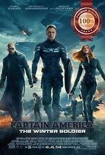 NEW CAPTAIN AMERICA WINTER SOLDIER MOVIE ORIGINAL CINEMA PRINT PREMIUM POSTER