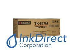 Genuine Kyocera Mita 1T02FZBUS0  TK-827M TK827M Toner Cartridge Magenta