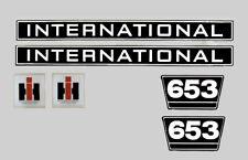 IHC Mc Cormick Traktor Aufkleber international 653 Emblem