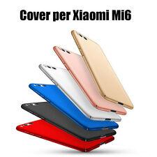 Cover custodia per Xiaomi Mi6 per Xiaomi Mi 6 Rigido tinta unita COPERTURA Bordo
