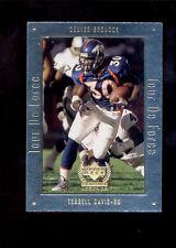 1999 UD Legends TERRELL DAVIS Denver Broncos Tour De Force Insert Card