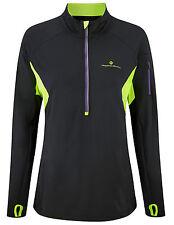 Ronhill Women Vizion Kinetic 1/2 Zip long sleeve winter top Running jogging