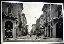 Italia~ITALY~ LIVORNO~ Via Cairoli~BAR CENTRALE~RPPC
