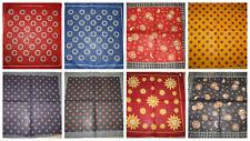 5cc2e8f1ac0aa2 Tolle Nickitücher Baumwolle Sterne Sonnen verschiedene Muster ca. 50 x 50  cm Neu