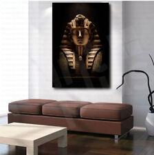 Tutankhamun Pharaoh Stone Mask Egypt Canvas Art Poster Print Home Wall Decor