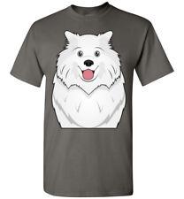 Samoyed Dog Cartoon T-Shirt Tee - Men Women Ladies Youth Kids Tank Long Sleeve