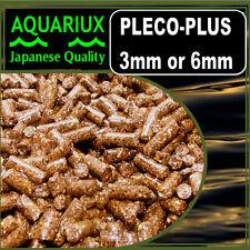 Aquariux pleco-plus granulés d'aliments pour poissons granulés pour tous les PLECO & poisson-chat + stim-x