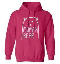 Mummy Bear hoodie / sweater matching family parents daughter son animal pun 4564