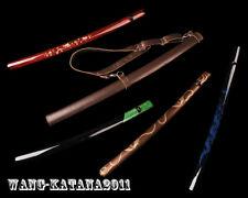 Wooden Saya Sheath Scabbard for Japanese Samurai Sword Katana Wakizashi Tanto