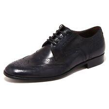 90437 blu scarpa DOLCE&GABBANA D&G DERBY calzatura uomo shoes men