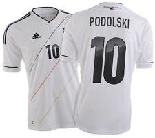 Trikot Adidas DFB 2012-2014 Home - Podolski [S-3XL] Deutschland. Fußball EM WM