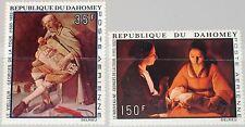 DAHOMEY 1972 503-04 C174-75 Paintings Gemälde Georges de la Tour Kunst Art MNH