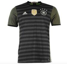 Adidas Alemania DFB Hacia fuera Camiseta Visitante EM 2016 Todos Las Tallas Gris
