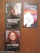 3 Figurine Esselunga Starzone ALEXIS JORDAN 04 LOREDANA ERRORE 61 + 1 download