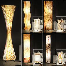 LED table récolte SOL Loop Stand Lampe mosaïque coquillages design tissu la vie